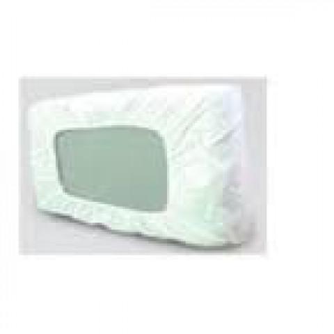 Capa para travesseiro PVC siliconado na cor bege