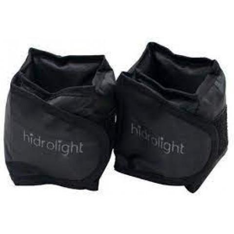 Caneleira de peso 0,5kg na cor preta Hidrolight(unidade)