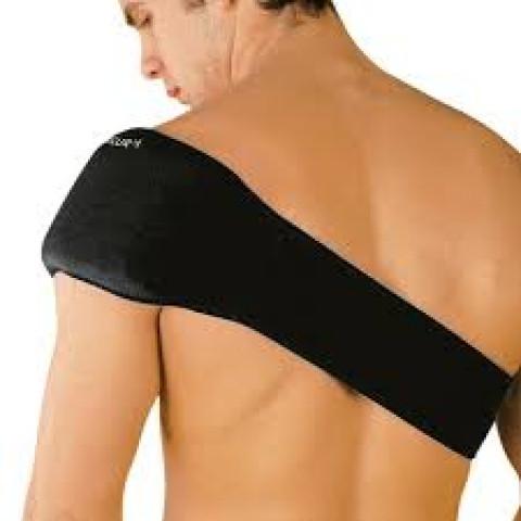 Cinta multiuso com bolsa térmica gel costas/ombros(tamanho único ajustável)