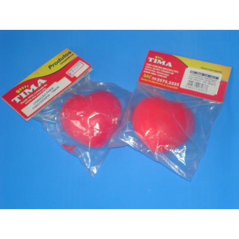 Coração para Fisioterapia de espuma(cor vermelha)-unidade