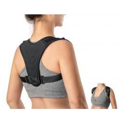 Corretor postural Lean na cor preta Hidrolight(tamanhos P/M/G/GG)