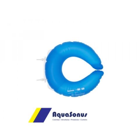 Forração ortopédica de assento sanitário inflável Aquasonus