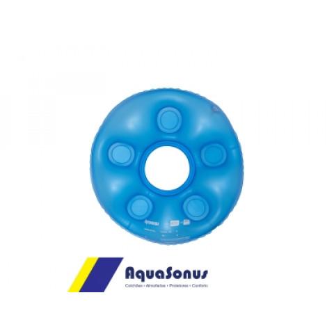 Forração ortopédica inflável caixa de ovo redonda com orifício Aquasonus