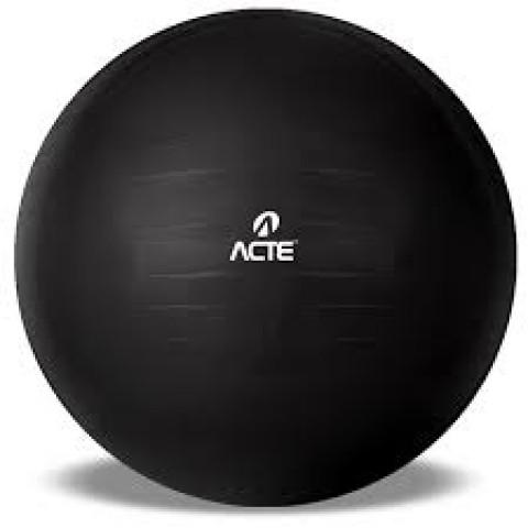 Gym ball 65cm na cor preta
