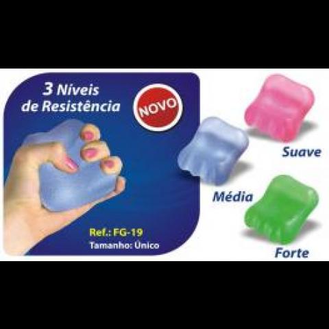Handgel Fisio Pauher Média Ortho Pauher(cor azul)-média
