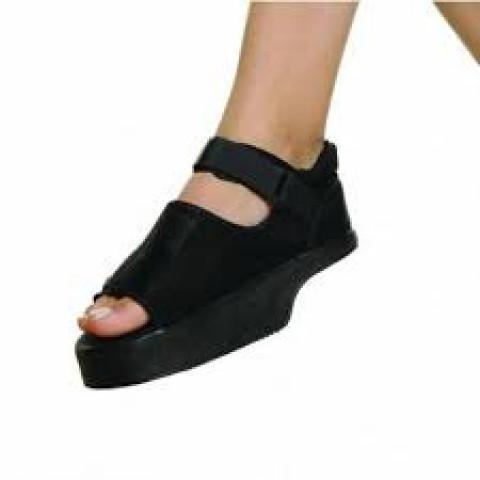 Sandália com cunha e alívio no retro-pé para diabéticos e outras patologias(tamanhos P/M/G)Dilepé-unidade