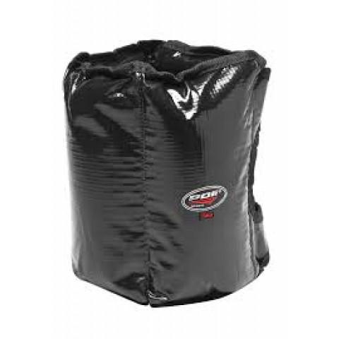 Tornozeleira emborrachada de 5kg na cor preta Polimet(unidade)