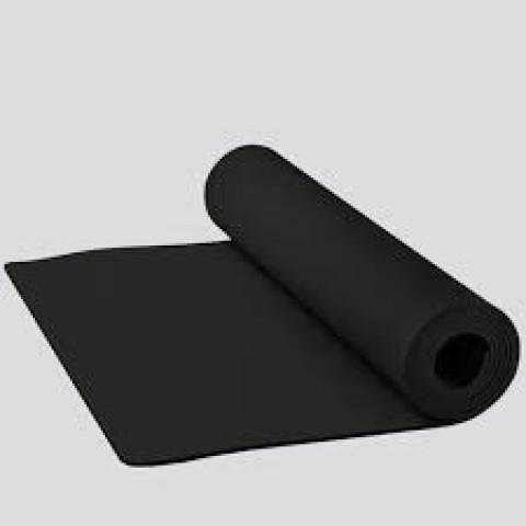 Yoga mat em EVA preto ACTE