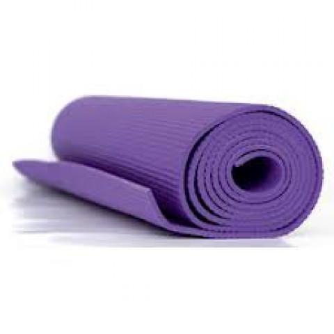 Yoga mat na cor roxa ACTE