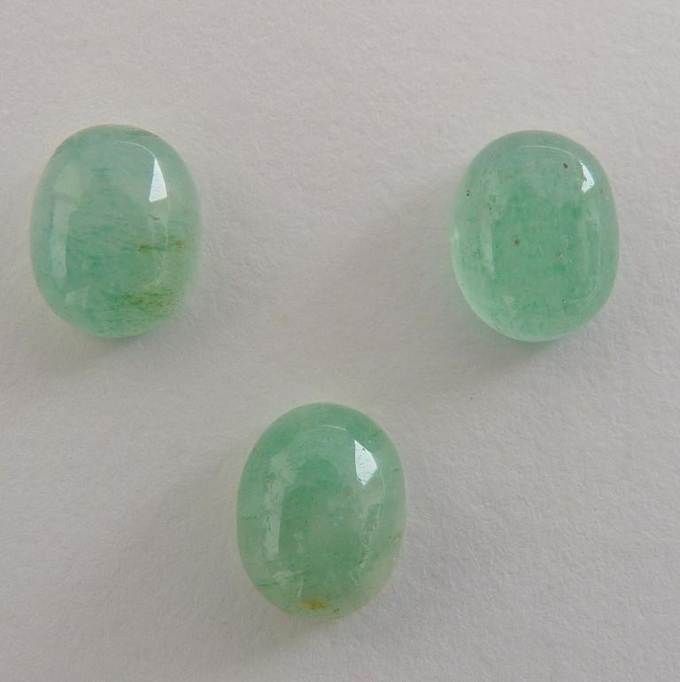 ÁGUA MARINHA Pedra Preciosa NATURAL 12 ct Qualidade Fine Preço de 3 Gemas 5270