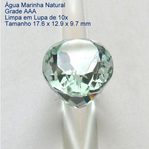 ÁGUA MARINHA Pedra Preciosa  3112b