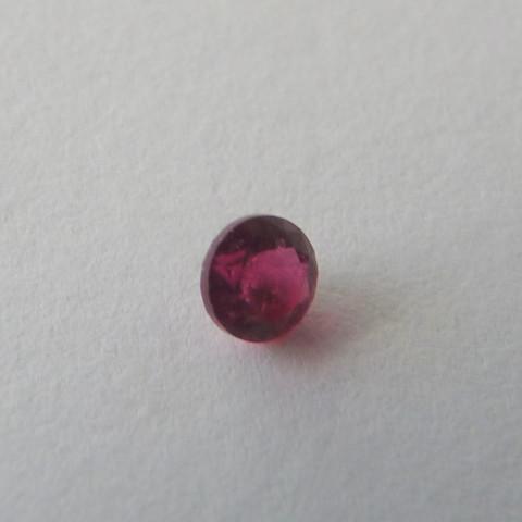 Rubelita Natural Pedra Preciosa 3303