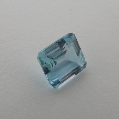 Topázio Natural Pedra Preciosa Na Cor Sky Blue 2835