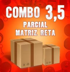 Combo parcial com matriz reta 3,5