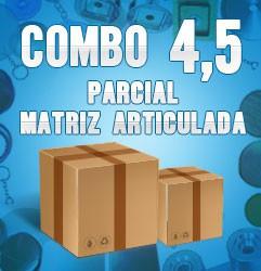 Combo parcial com matriz articulada 4,5