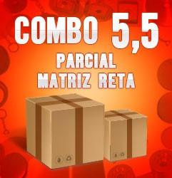 Combo parcial com matriz reta 5,5