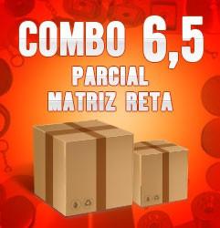 Combo parcial com matriz reta 6,5