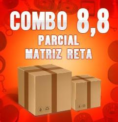 Combo parcial com matriz reta 8,8