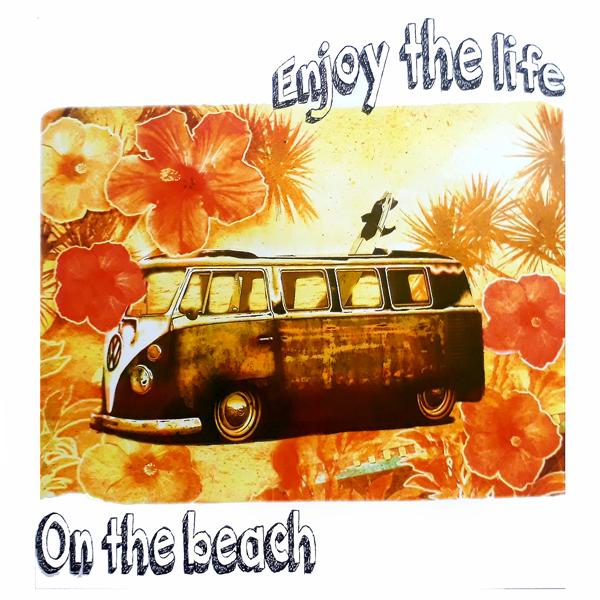 TRANSFER ENJOY THE LIFE ON THE BEACH (233)