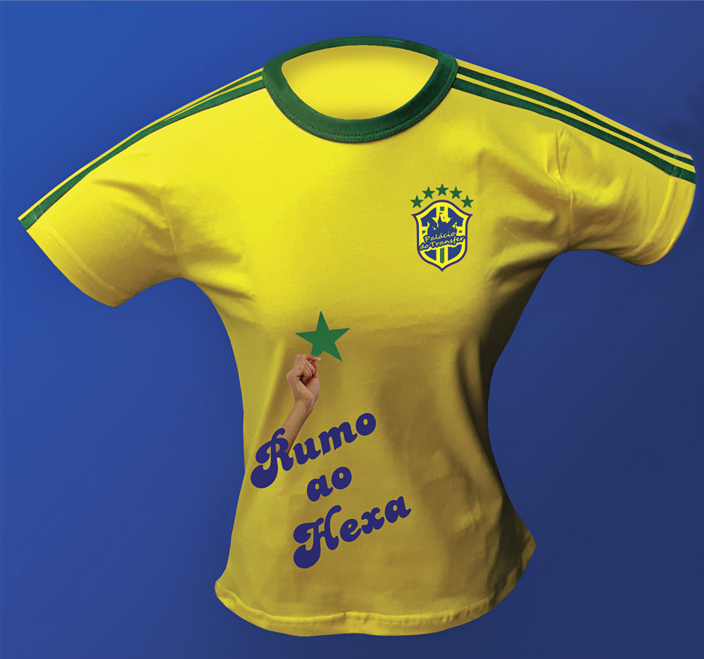 BABY LOOK DO BRASIL PERSONALIZADA (13051)