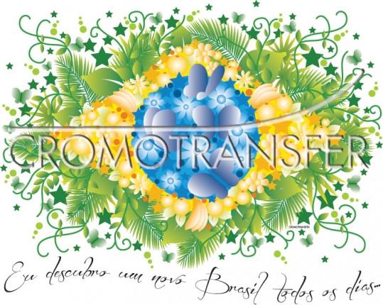 TRANSFER BANDEIRA BRASIL (1026)