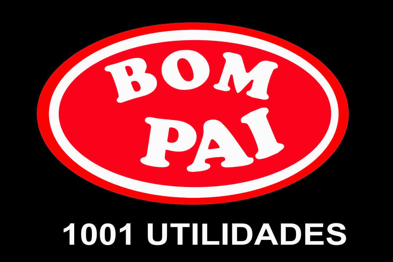 TRANSFER DIA DOS PAIS - BOM PAI 1001 UTILIDADE - PARA TECIDOS ESCUROS