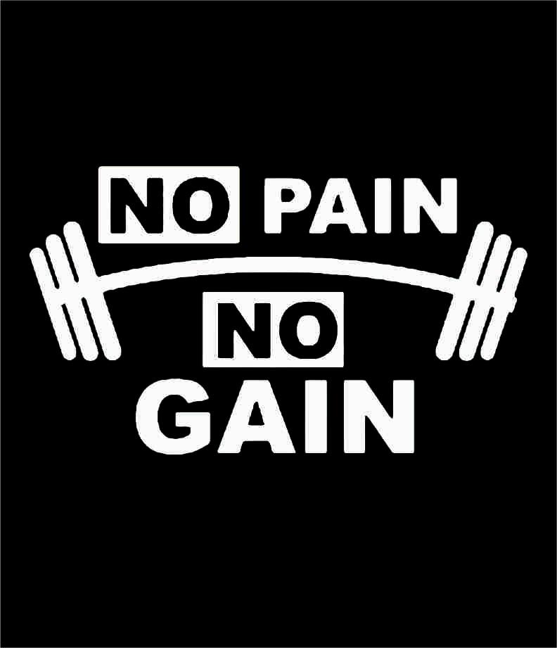 TRANSFER NO PAIN NO GAIN BRANCO (033)