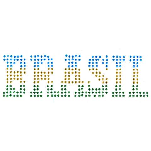 TRANSFER STRASS BRASIL 3 CORES (275)
