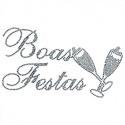 TRANSFER STRASS BOAS FESTAS PRATA (138)