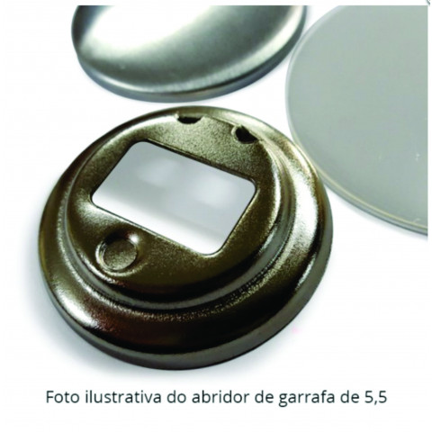 KIT BOTTON ABRIDOR DE GARRAFA - 50 PEÇAS