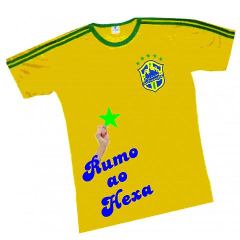 CAMISETA DO BRASIL PERSONALIZADA (13050)