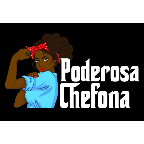 TRANSFER DIA DAS MÃES - PODEROSA CHEFONA - TECIDOS ESCUROS