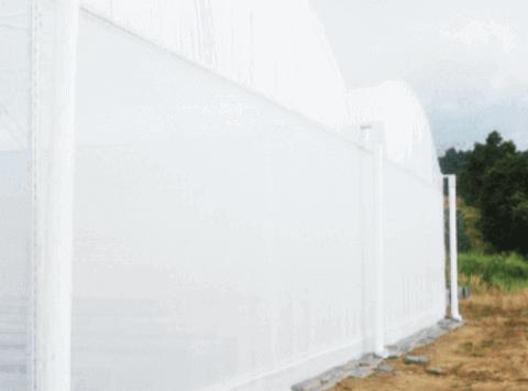 Plástico para Estufa Leitoso NORTENE Branco 8X100 150 micras 126 Kg