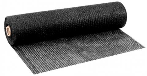 Tela de Sombreamento 50% Bloqueio AGRONET Preto 4x50