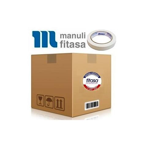 Fita Crepe MANULI FITASA REF 50 - 18mm x 50m - Caixa com 96 unidades