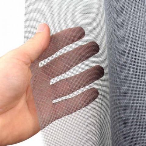 Tela Mosquiteiro em Fibra de Vidro PAPERPLAST Cinza 1x30m