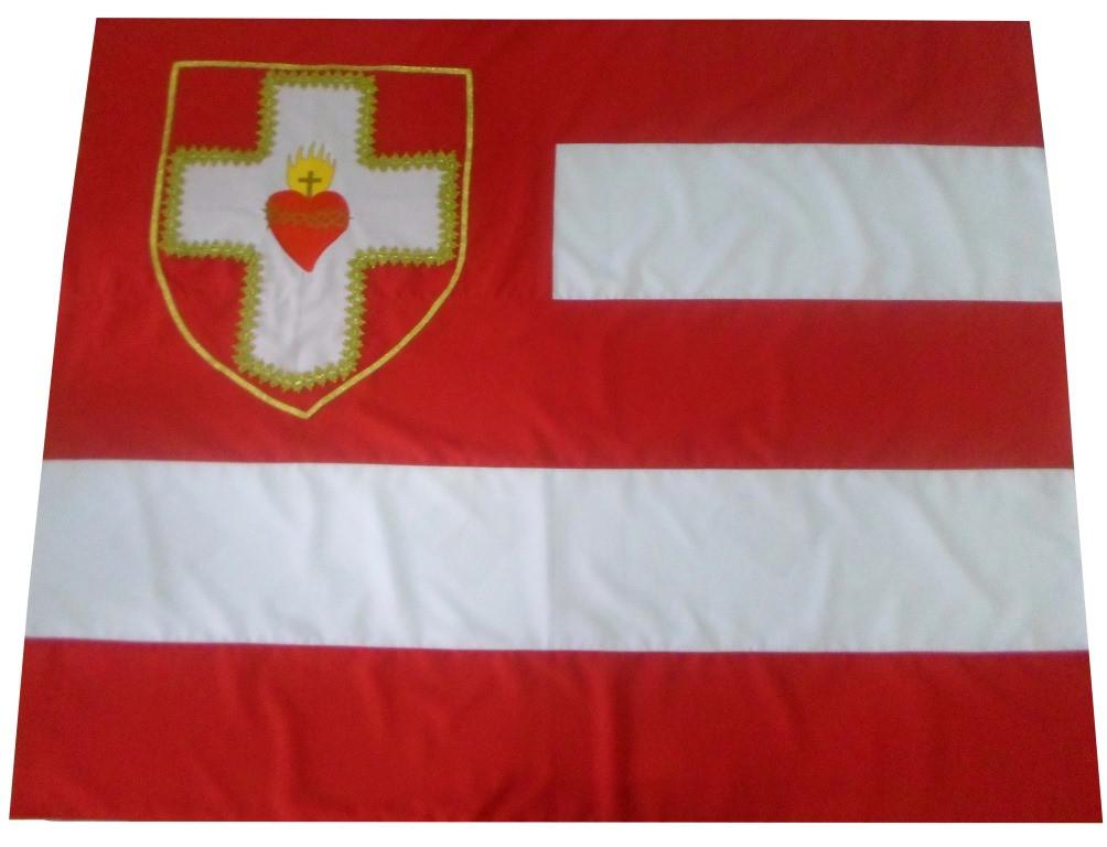 Bandeira  Apostolado da Oração. CÓD: BAND-001