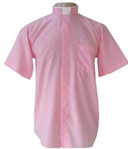 Camisa Colarinho Romano Manga Curta. CÓD: CAC-041