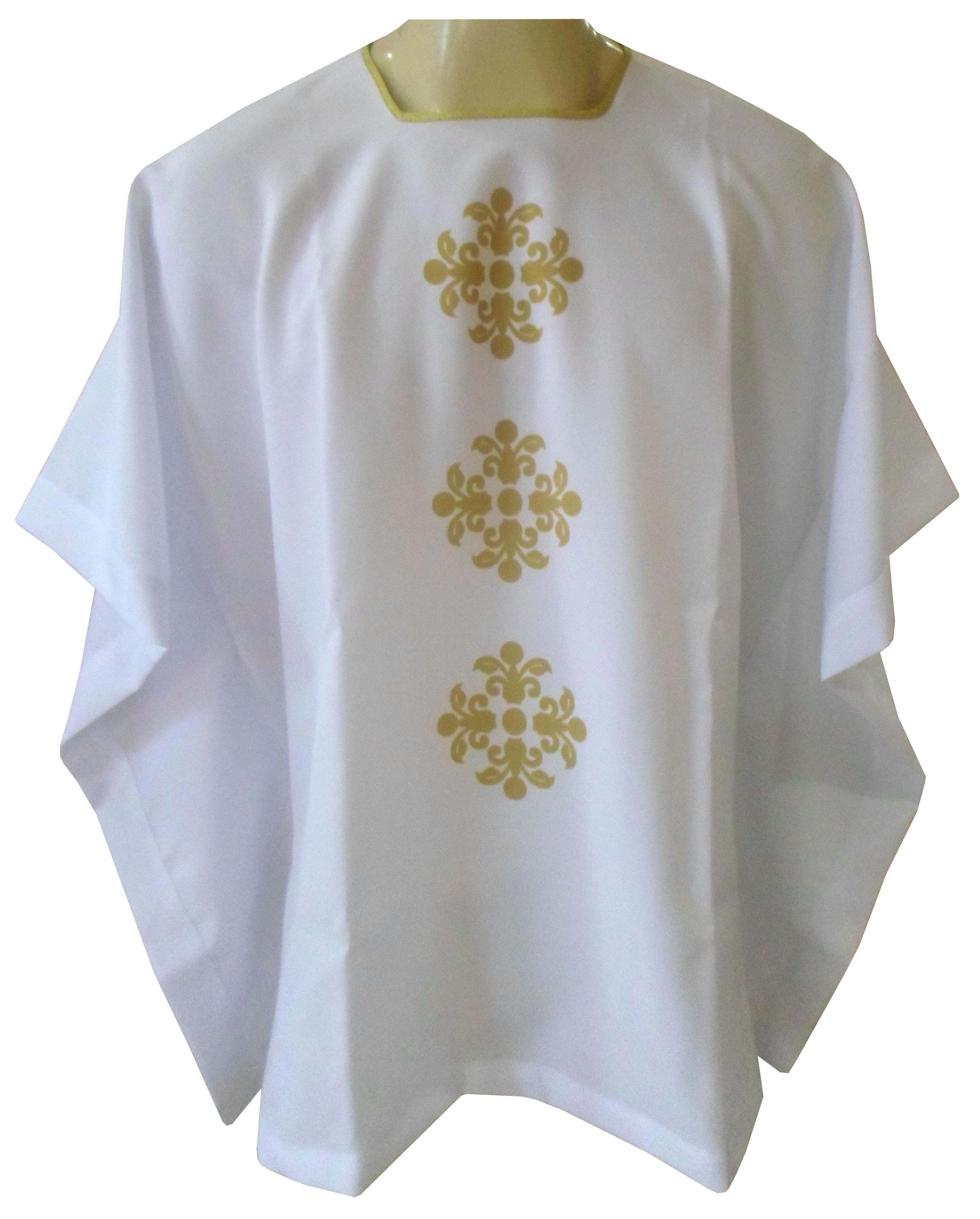 Veste para Ministro da Eucaristia. CÓD: VPM-062
