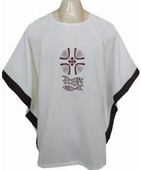 Veste Franciscana para Veste de Leitores. Disponível nas Cores Litúrgicas.         CÓD  VPL-010