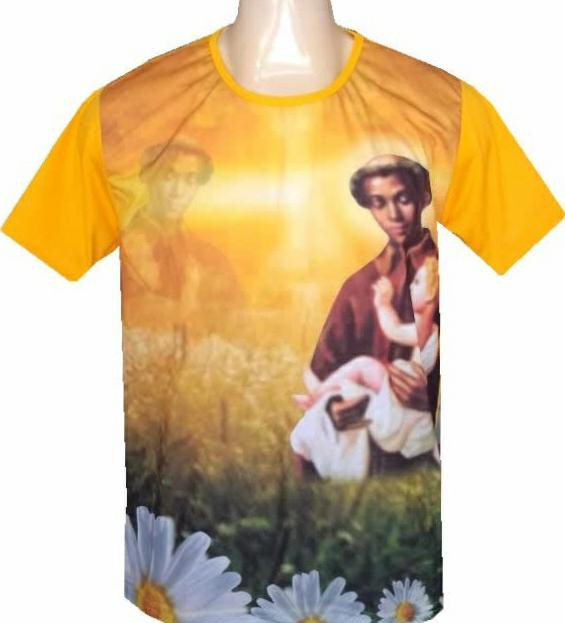 Camisa São Benedito. CÓD: CMS-045