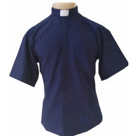 Camisa Clerical Marga Curta. CÓD: CAC-036