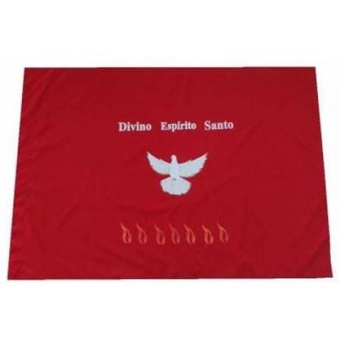Bandeira Divino Espírito Santo. CÓD: BAND-004
