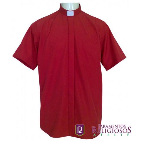 Camisa Clerical Manga Curta.  CÓD: CAC-007