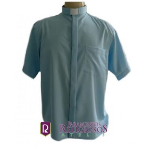Camisa Clerical Manga Curta.     CÓD: CAC-012