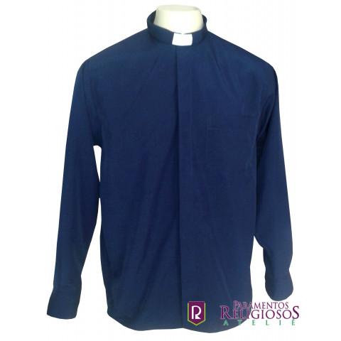 Camisa Clerical Manga Longa.      CÓD: CAC-001