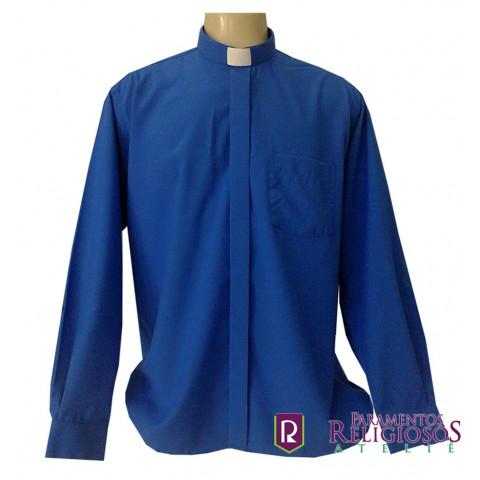 Camisa Clerical Manga Longa.      CÓD: CAC-038