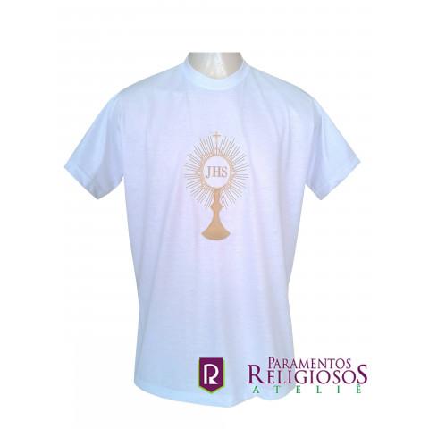 Camisa Ostensório. Disponível nas Cores Litúrgicas. CÓD: CAC-005