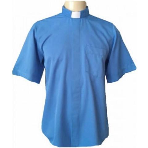 Camisa Clerical Manga Curta.  CAC-023