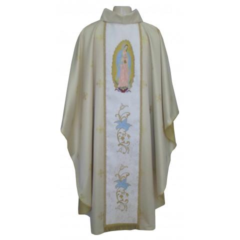 Casula Nossa Senhora de Guadalupe. Acompanha Estola.       CÓD: CAS-060